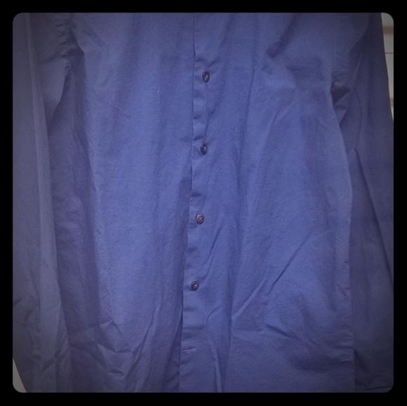 Express Express 1mx Other - Men's long sleeve button down shirt